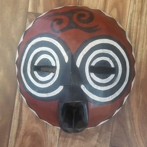 Accessories - Wooden African Mask wall decor
